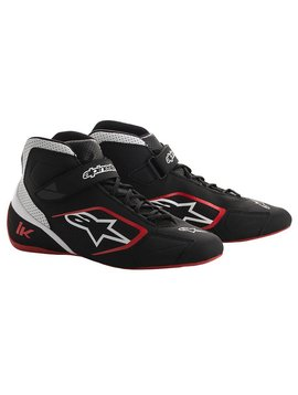Alpinestars Tech-1 K Shoes Black/White/Red