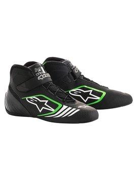Alpinestars Tech-1 KX Chaussures Noir/Vert Fluo