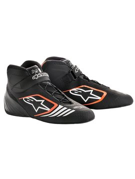 Alpinestars Tech-1 KX Schuhe Schwarz/Fluo Orange