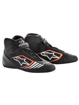 Alpinestars Tech-1 KX Shoes Black/Orange Fluo