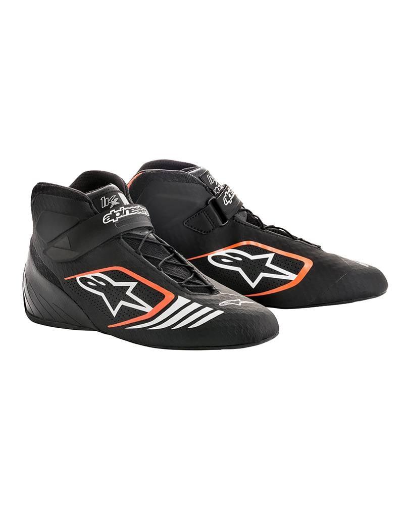Alpinestars Tech-1 KX Schuhe Schwarz/Fluo Orange