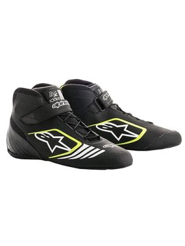 Alpinestars Tech-1 KX Shoes Black/Yellow Fluo