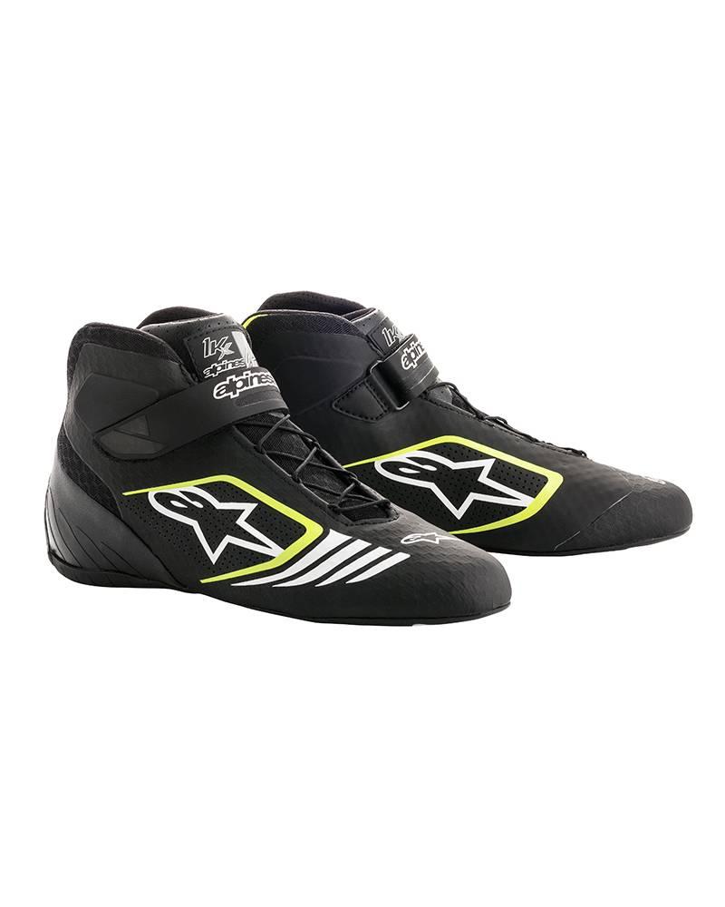Alpinestars Tech-1 KX Shoes Black/Yellow Fluo