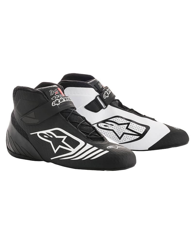 Alpinestars Tech-1 KX Schuhe Schwarz/Weiß