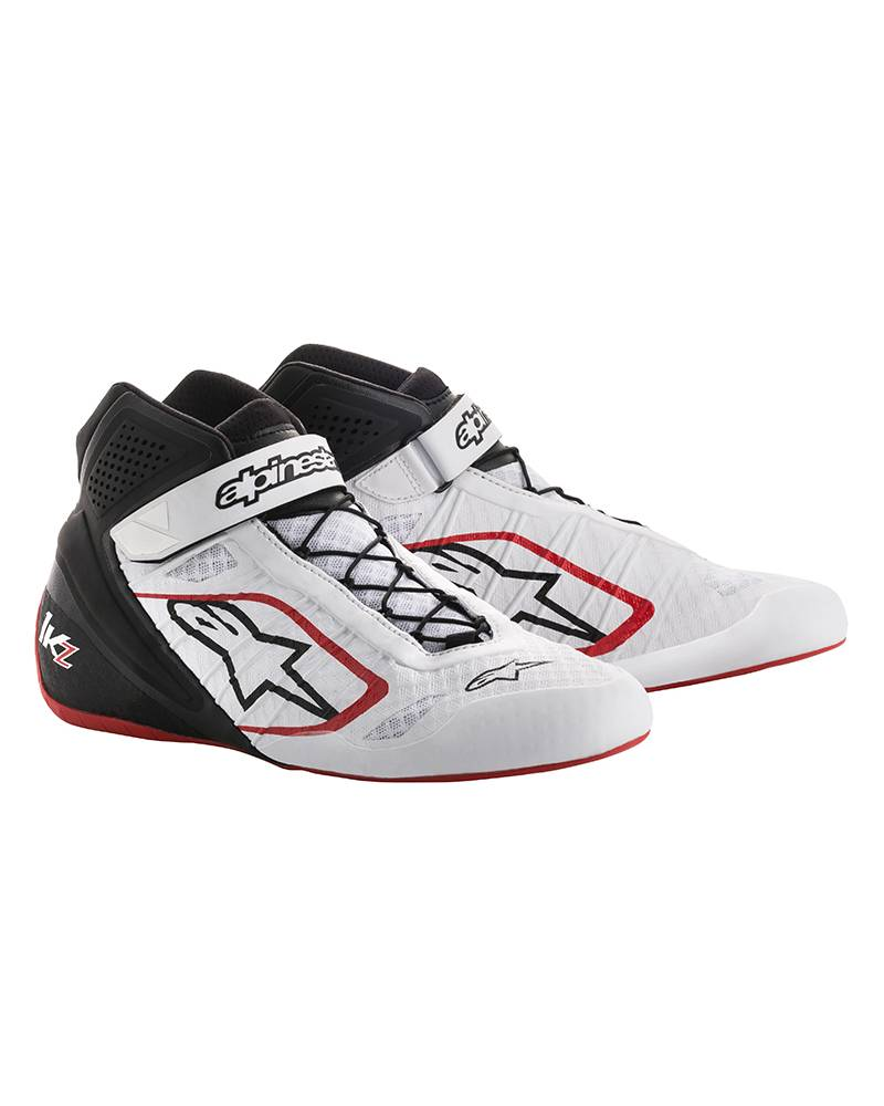 Alpinestars Tech-1 KZ Shoes White/Black/Red