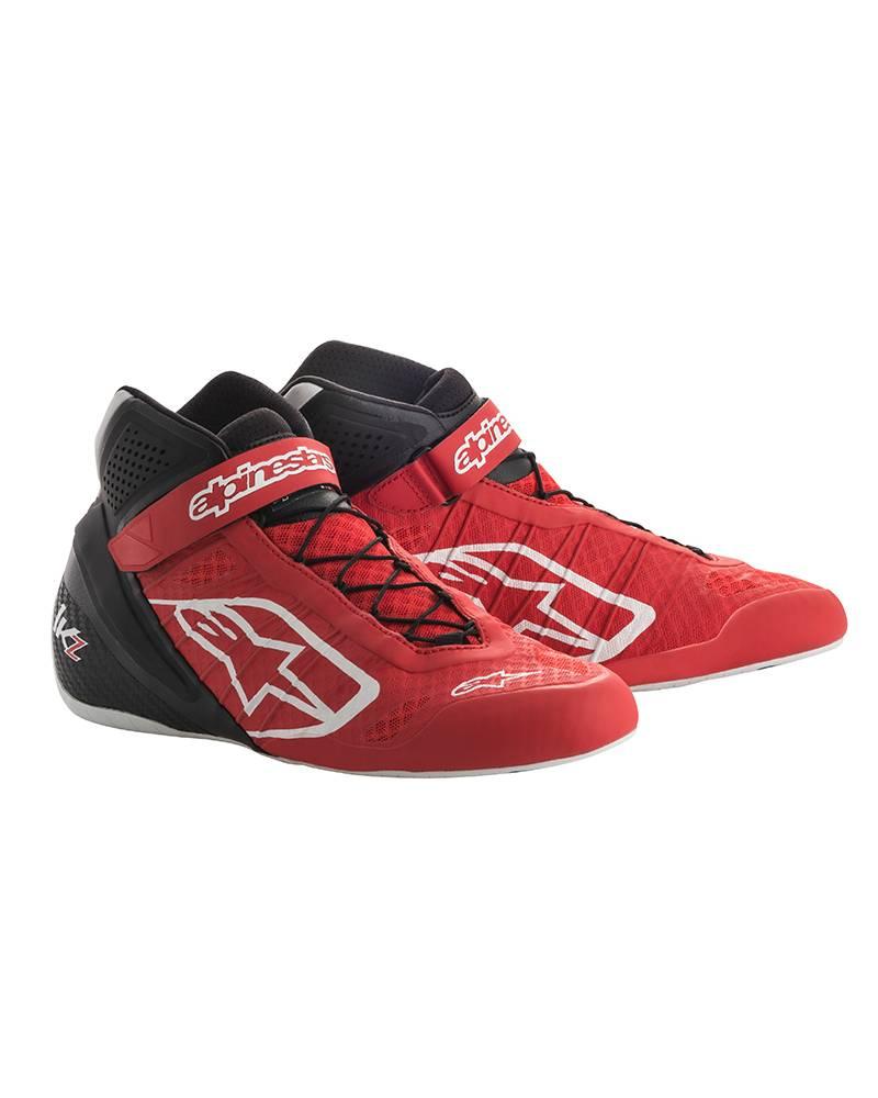 Alpinestars Tech-1 KZ Schuhe Rot/Schwarz