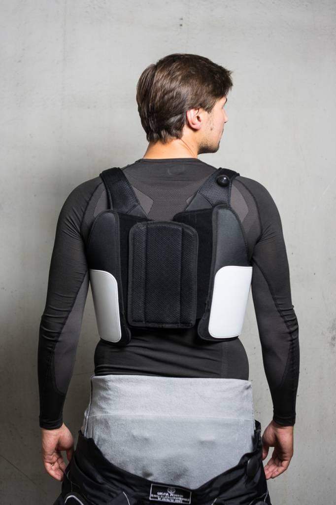 Alpinestars Bionic Rippenschutz - Schwarz/Weiß