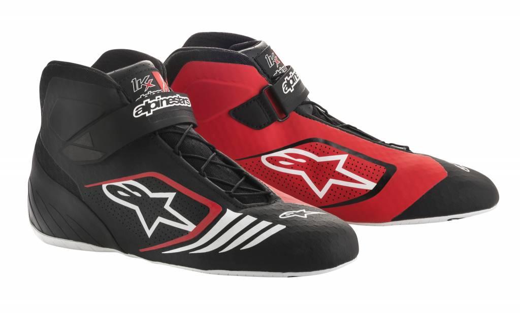 Alpinestars Tech-1 KX Schuhe Schwarz/Weiß/Rot