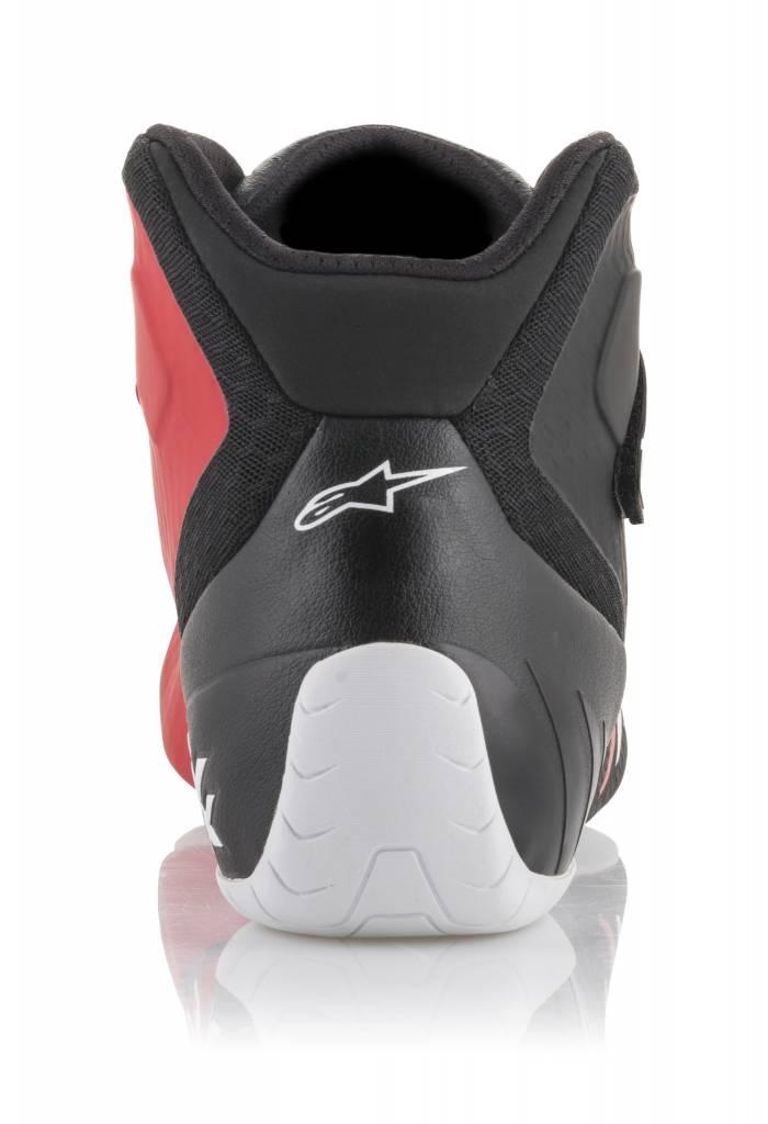 Alpinestars Tech-1 KX Chaussures Noir/Blanc/Rouge