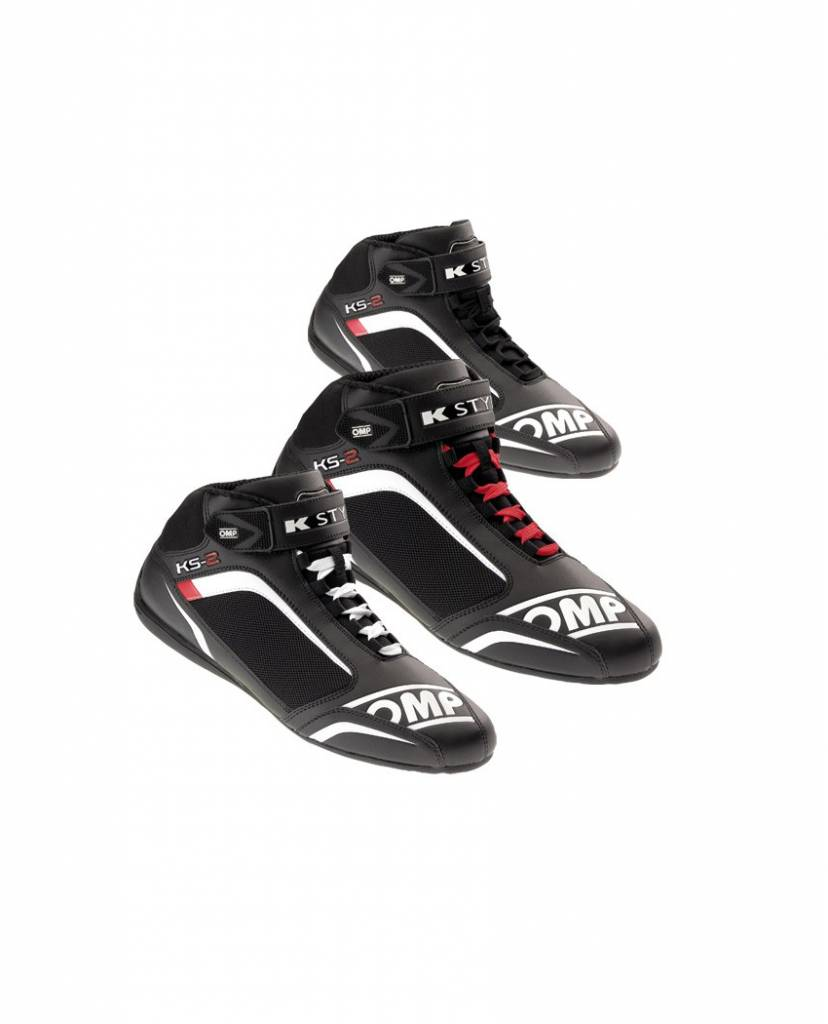 OMP KS-2  Schoenen Zwart