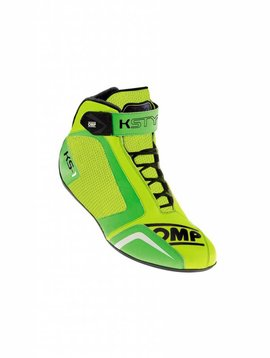 OMP KS-1 Chaussures Vert Fluo Jaune