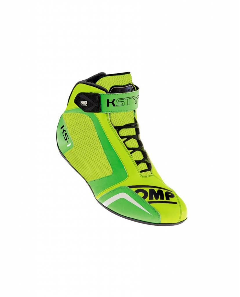 OMP KS-1 Schoenen Groen Fluo Geel