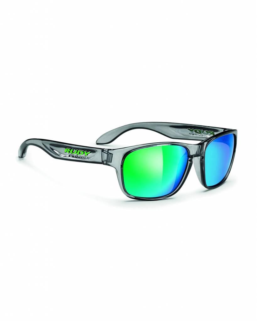 Rudy Spinhawk Sunglasses - Crystal Ash - Green