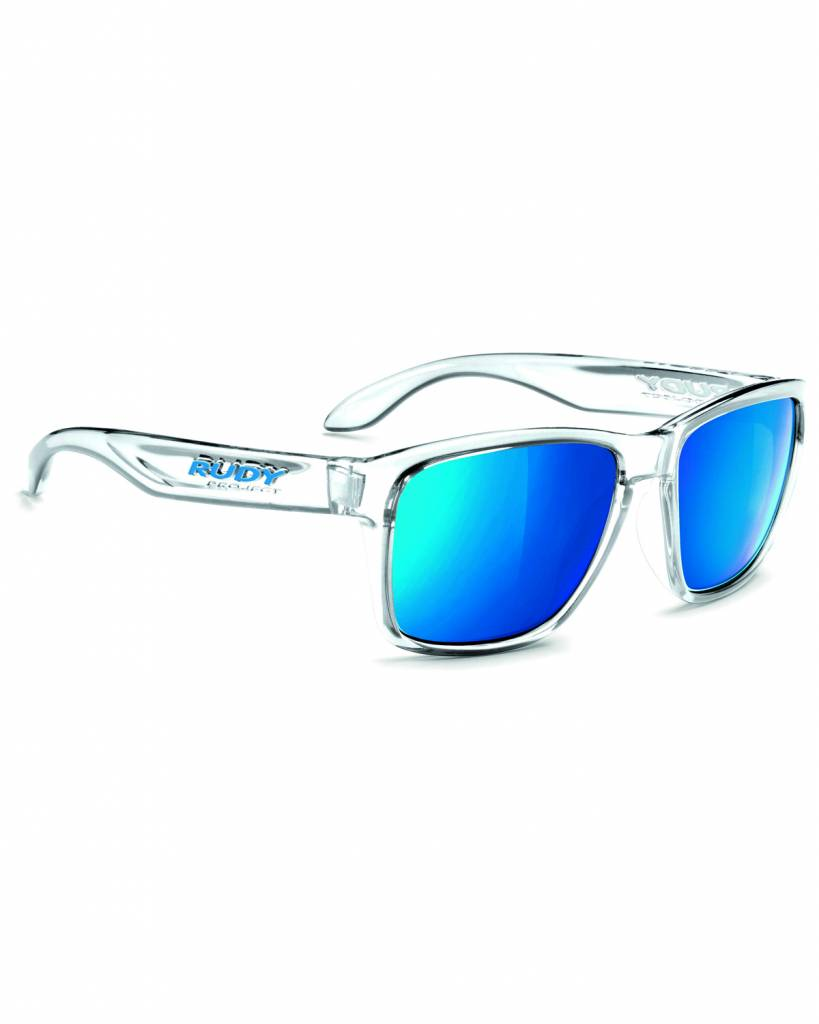 Rudy Spinhawk Sunglasses - Crystal Ash - Blue