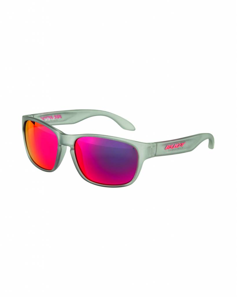 Spinhawk Sunglasses - Frozen Ash - Red