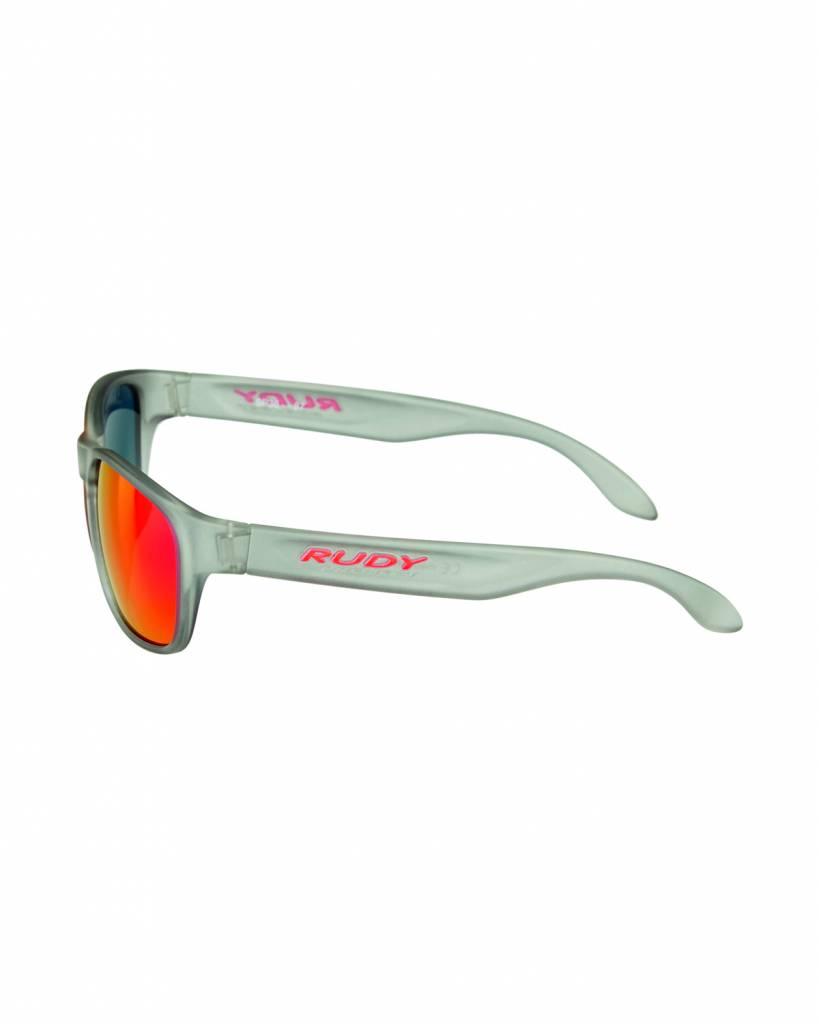 Rudy Spinhawk Sunglasses - Frozen Ash - Red