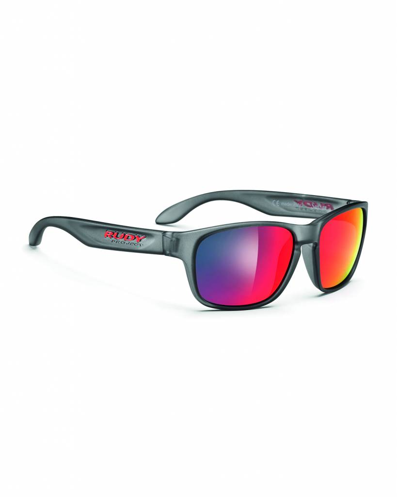 Spinhawk Sunglasses - Frozen Ash - Red
