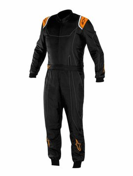 Alpinestars KMX-9 Black/Orange Fluo