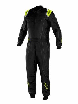 Alpinestars KMX-9 Black/Anthracite/Yellow Fluo