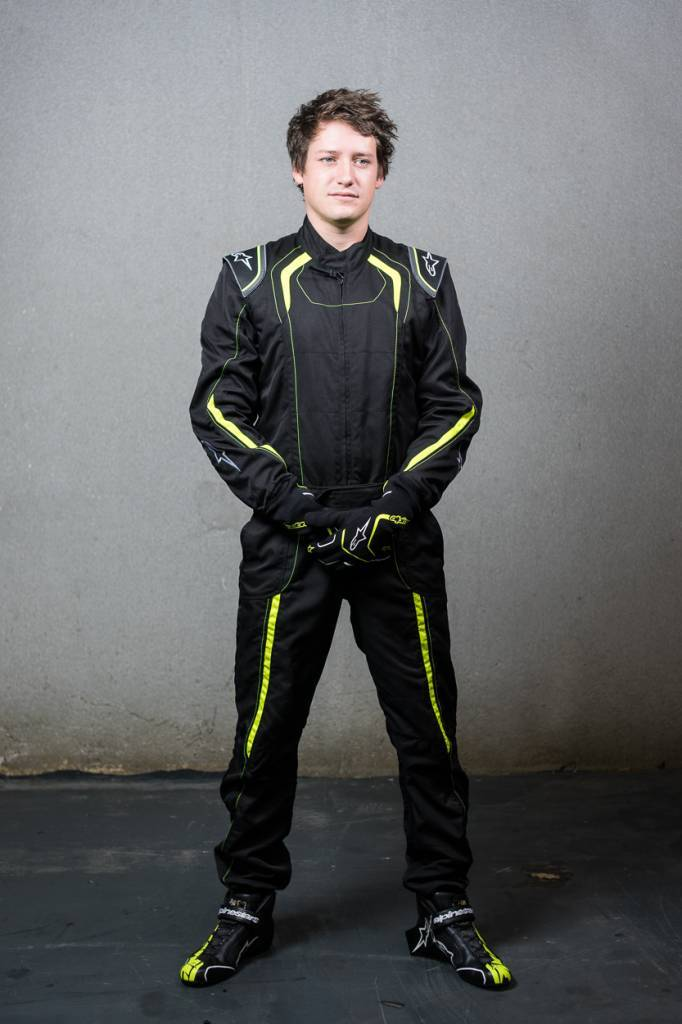 Alpinestars KMX-5 Black/Yellow Fluo