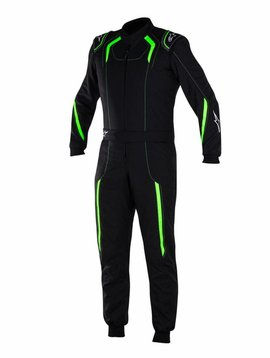 Alpinestars KMX-5 Black/Green Fluo