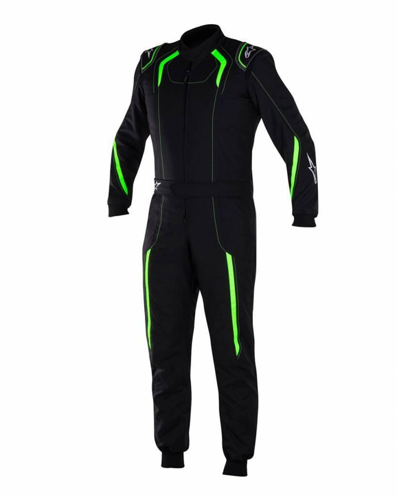 Alpinestars KMX-5 Black/Green Fluo
