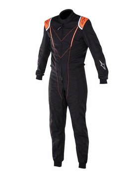 Alpinestars SUPER KMX-1 Noir/Orange Fluo