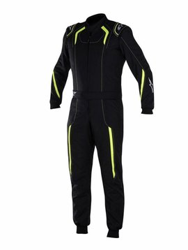 Alpinestars KMX-5 Junior Black/Yellow Fluo