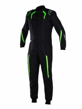 Alpinestars KMX-5 Junior Black/Green Fluo