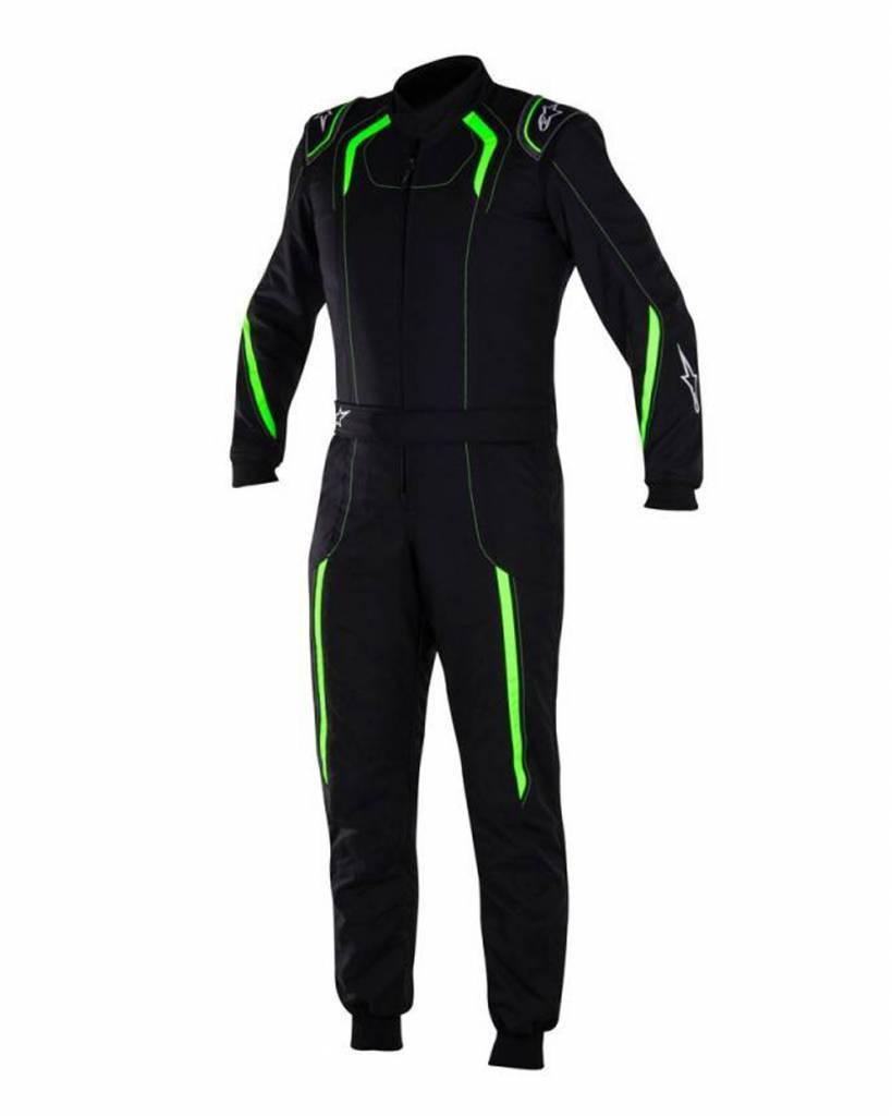 Alpinestars KMX-5 Junior Black/Green Fluo