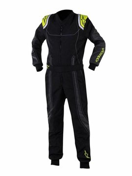 Alpinestars KMX-9 Junior Black/Anthracite/Yellow Fluo