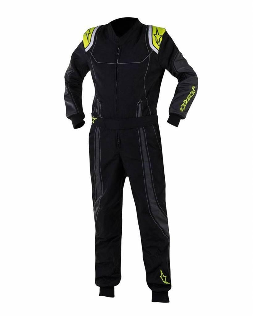 Alpinestars KMX-9 Junior Black/Anthracite/Yellow Fluo