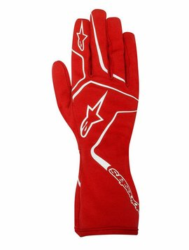 Alpinestars Tech 1-K Race Gloves Rood