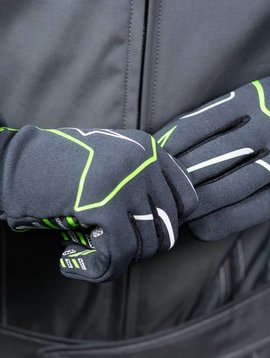 Alpinestars Tech 1-K Race Gloves Anthracite/Vert