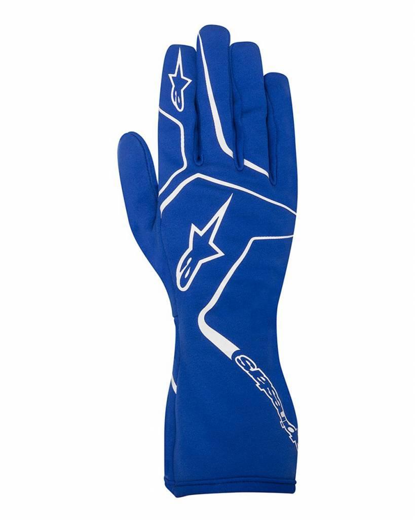 Alpinestars Tech 1-K Race Gloves Bleu