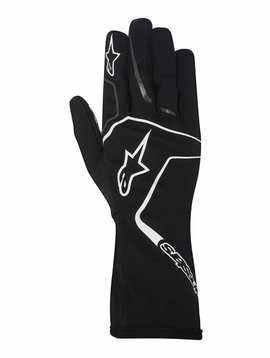 Alpinestars Tech 1-K Race Gloves Black/White
