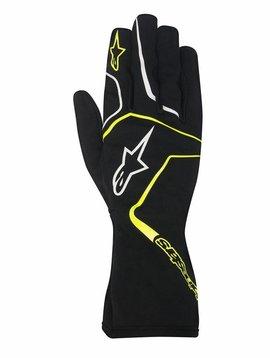 Alpinestars Tech 1-K Race Junior Black/Yellow Fluo