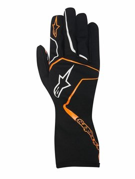 Alpinestars Tech 1-K Race Junior Zwart/Fluo Orange