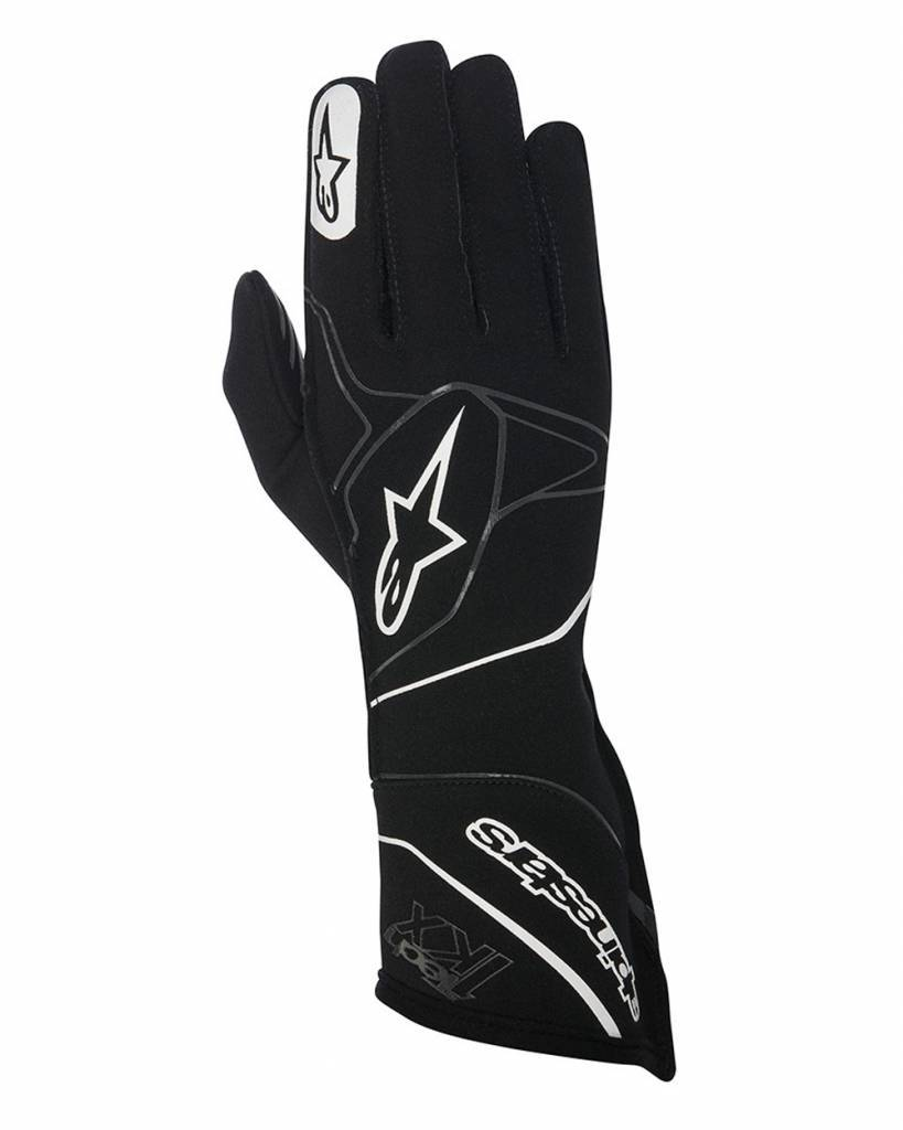 Alpinestars Tech-1 KX Gloves Zwart/Wit