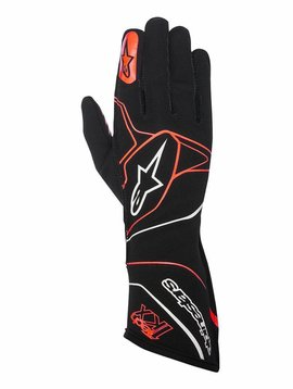 Alpinestars Tech-1 KX Gloves Zwart/Rood