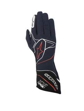 Alpinestars Tech-1 KX Gloves Blauw/Wit/Rood