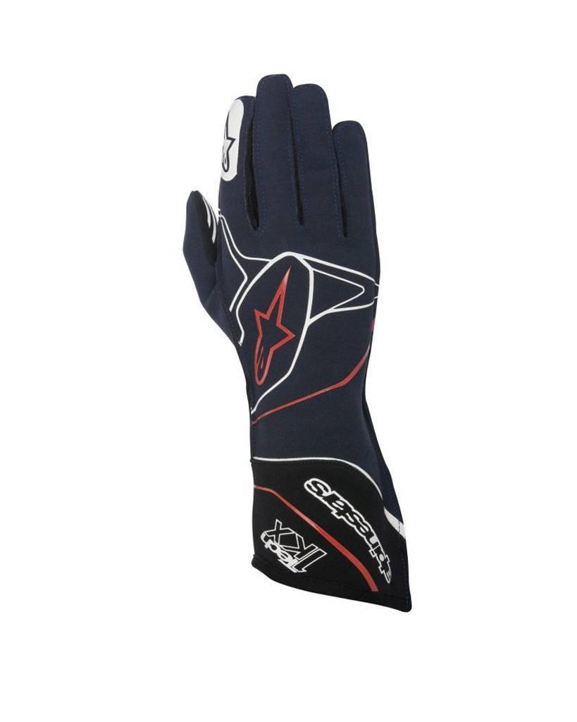 Alpinestars Tech-1 KX Gloves Blauw/Wit/Rood