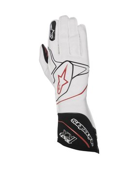 Alpinestars Tech-1 KX Gloves Blanc/Noir/Rouge
