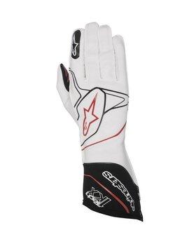 Alpinestars Tech-1 KX Gloves Weiß/Schwarz/Rot