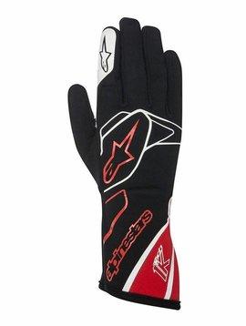 Alpinestars Tech 1-K Gloves Schwarz/Rot/Weiß