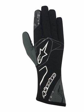 Alpinestars Tech 1-K Gloves Schwarz/Anthrazit/Weiß