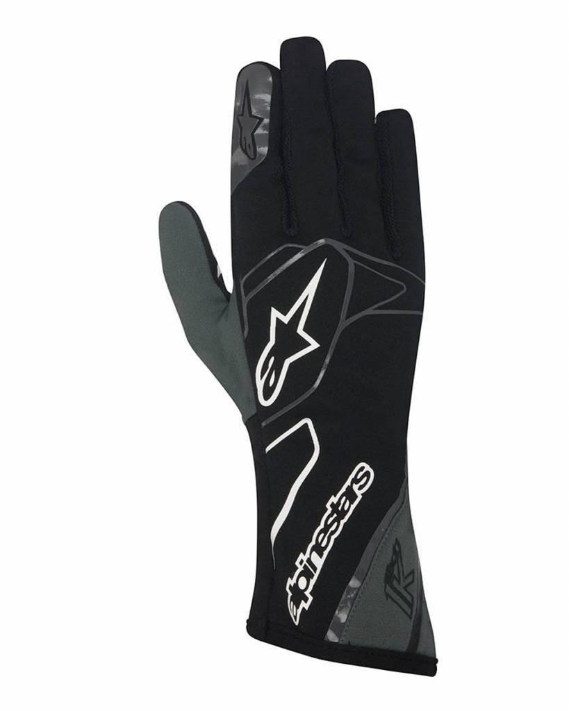 Alpinestars Tech 1-K Gloves Zwart/Anthracite/Wit