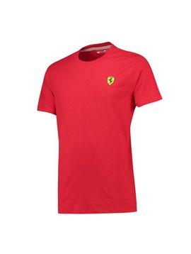 Ferrari T-shirt à col rond classique pour homme