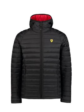 Ferrari Mens Padded Jacket - Schwarz