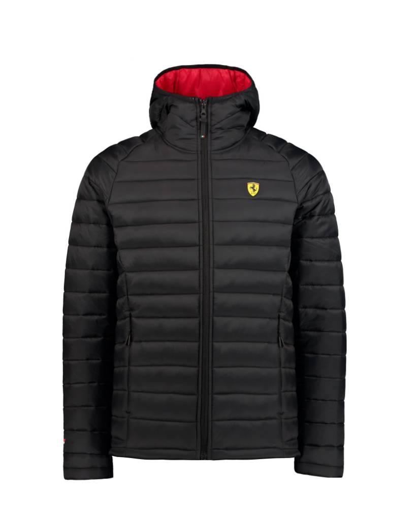 Ferrari Ferrari Mens Padded Jacket - Noir